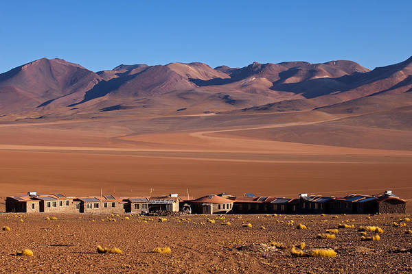 Photograph - Hotel In Siloli Desert by Aivar Mikko