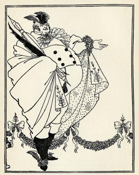 Beardsley Drawing - Design By Aubrey Vincent Beardsley 1872 by Vintage Design Pics