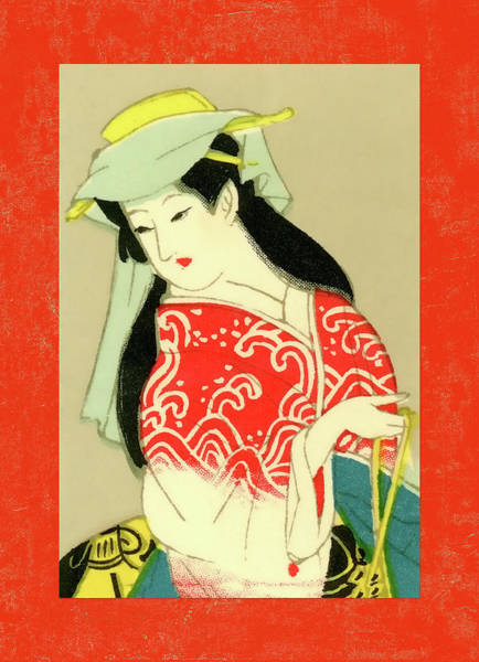 Wall Art - Mixed Media - Designer Series Japanese Matchbox Label 135 by Carol Leigh