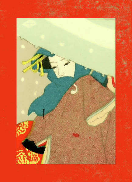 Wall Art - Mixed Media - Designer Series Japanese Matchbox Label 136 by Carol Leigh
