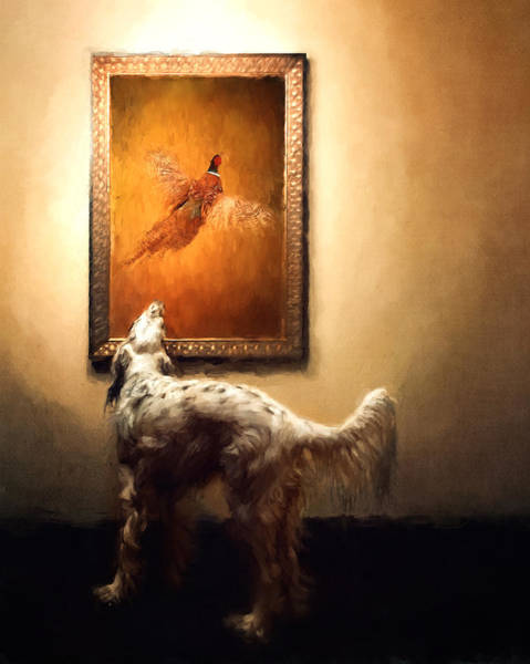Pheasant Digital Art - Desire by Danica Barreau