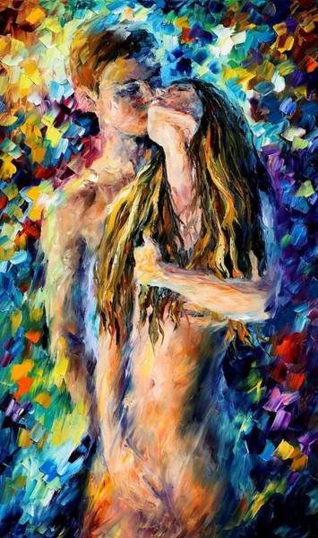 Making Love Wall Art - Painting - Desire by Leonid Afremov