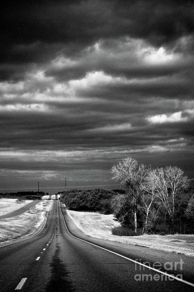 Photograph - Desolate Highway by Imagery by Charly