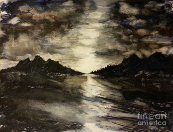 Painting - Desolate by Reed Novotny