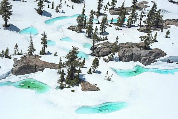 Desolation Photograph - Desolation Blue Ice by Brad Scott