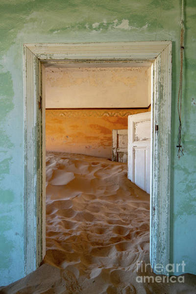 Wall Art - Photograph - Desolation - Kolmanskop, Namibia by Sandra Bronstein