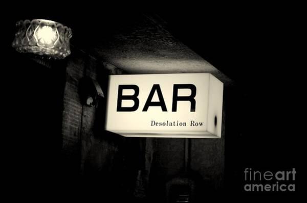 Drunk Photograph - Desolation Row by Dean Harte