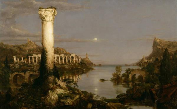 Desolation Painting - Desolation by Thomas Cole