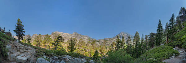 Photograph - Desolation Wilderness Panorama by Jonathan Hansen