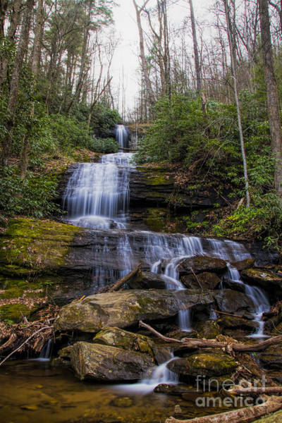 Photograph - Desoto Falls by Barbara Bowen