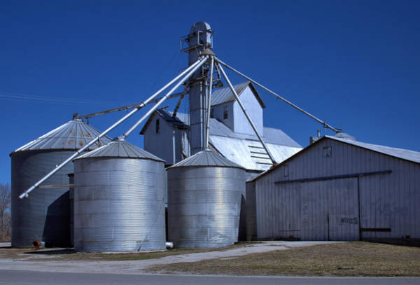 Photograph - Desoto Kansas Grain And Feed by Tim McCullough