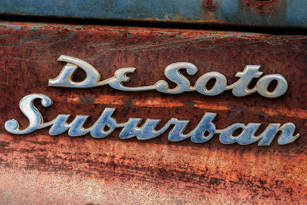 Photograph - Desoto Suburban by Bud Simpson