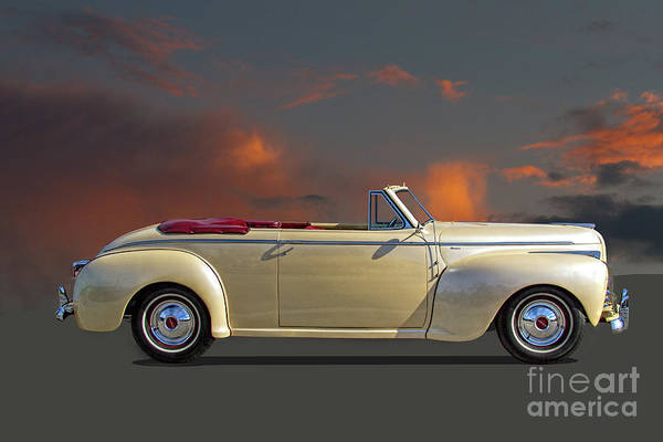 Wall Art - Photograph - Chrysler Windsor Convertible With Fluid Drive by Nick Gray