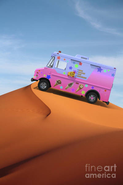 Mirage Digital Art - Dessert Mirage by Edward Fielding