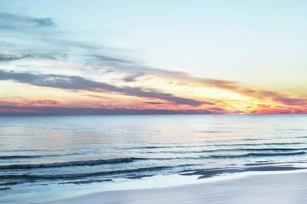Photograph - Destin Beach At Sunset by Kay Brewer