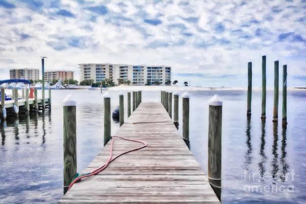 Photograph - Destin Harbor Marina # 2 by Mel Steinhauer