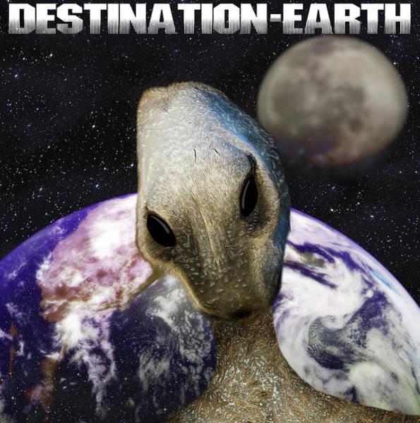 Et Digital Art - Destination Earth by Gravityx9  Designs