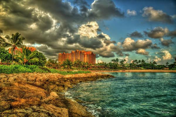 Photograph - Destination Paradise Aulani Disney Resort Spa Hawaiian Sundown Art by Reid Callaway