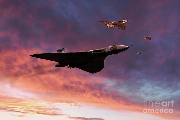 Falklands Digital Art - Destination Port Stanley by J Biggadike