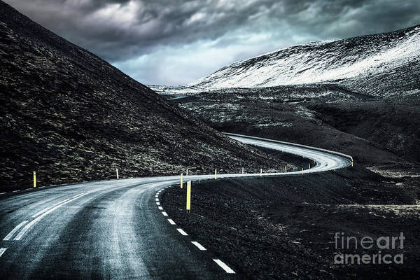 Route Photograph - Destiny's Path by Evelina Kremsdorf