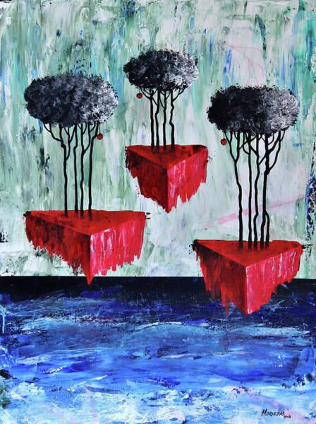 Painting - Desvanece En El Mar La Tierra Viva by Lorenzo Muriedas