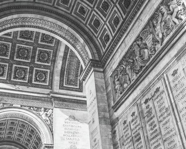 Wall Art - Photograph - Detail - Arc De Triumph by Joseph Smith