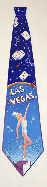 Painting - Detail Las Vegas by Tracy Dennison