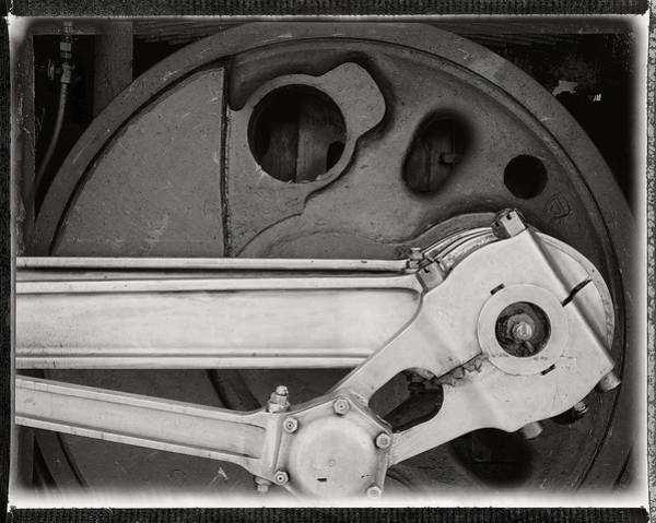 Photograph - Detail, Locomotive by Bud Simpson