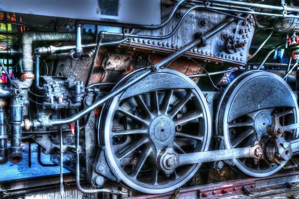 Photograph - Detail Of A Train II by Carol Montoya
