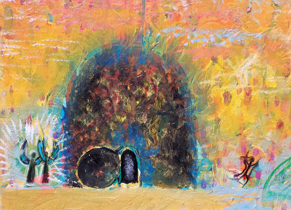 Detail Of Empty Tomb Art Print