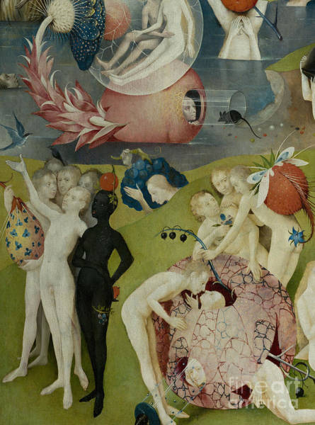 Wall Art - Painting - Detail Of The Central Panel Of The Garden Of Earthly Delights by Hieronymus Bosch