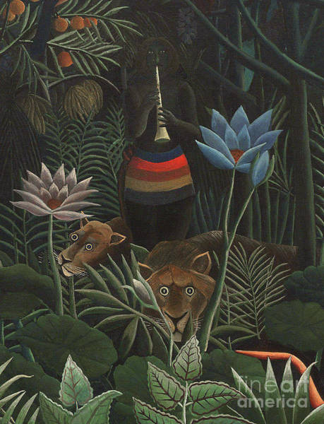 Wall Art - Painting - Detail Of The Dream, 1910 by Henri Rousseau