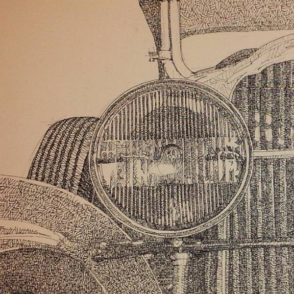 Wall Art - Photograph - Detalle Del Faro Tinta Sobre by Drawspots Illustrations