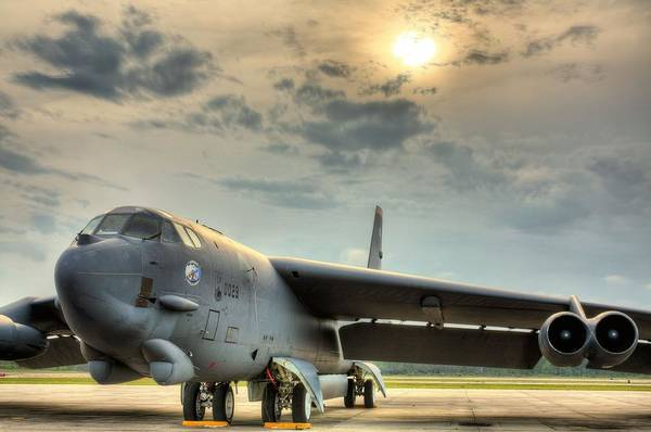 Nuclear Bomber Wall Art - Photograph - Deterrence  by JC Findley