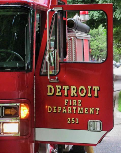 Wall Art - Photograph - Detroit Fire Department by Daniel Hagerman