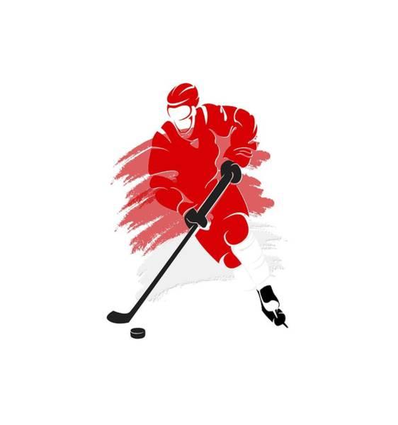 Wall Art - Photograph - Detroit Red Wings Player Shirt by Joe Hamilton