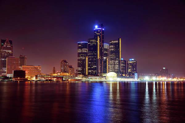 Wall Art - Photograph - Detroit Skyline 4 by Gordon Dean II