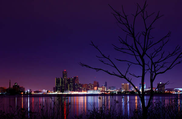Wall Art - Photograph - Detroit Skyline by Cale Best