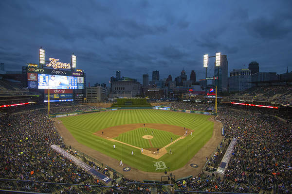 Photograph - Detroit Tigers Comerica Park 2 by David Haskett II