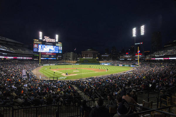 Photograph - Detroit Tigers Comerica Park Lower Level 1 by David Haskett II