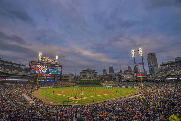 Photograph - Detroit Tigers Comerica Park Lower Level  4944 by David Haskett II