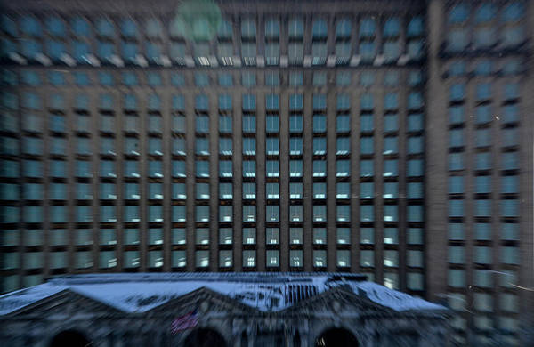 Photograph - Detroit Train Station In Abstract by Randy J Heath