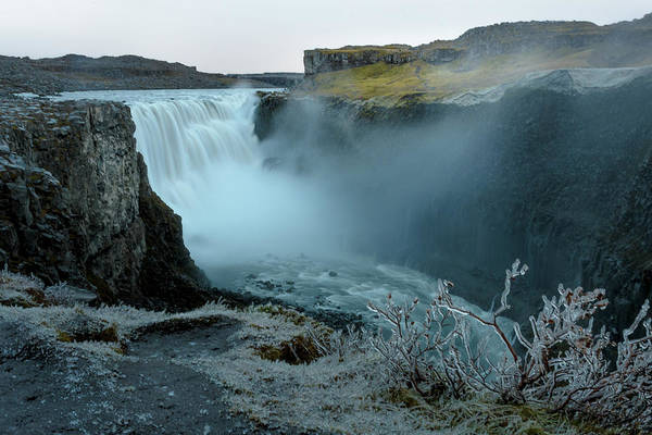 Photograph - Dettifoss Waterfalls In Iceland by Adrian O Brien