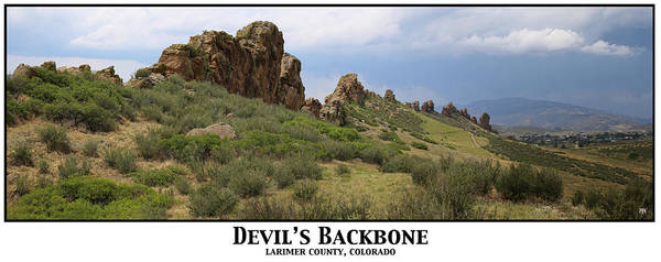 Photograph - Devil's Backbone by John Meader