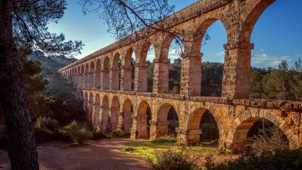 Photograph - Devils Bridge Tarragona Spain by Joan Carroll