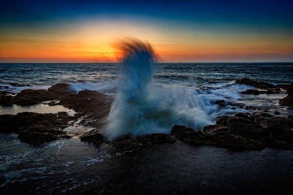 Photograph - Devil's Churn by Rick Berk