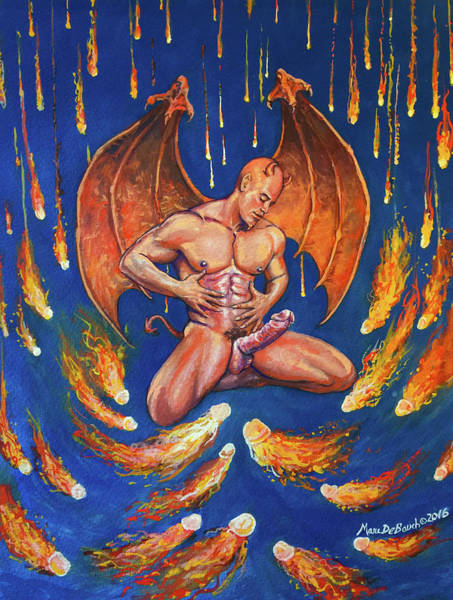 Painting - Devil's Delight by Marc DeBauch