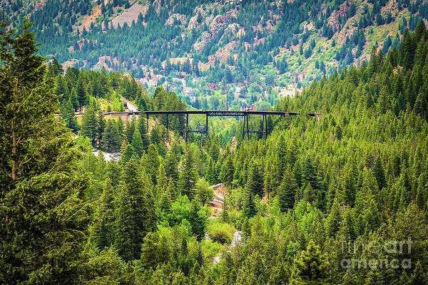 Photograph - Devil's Gate High Bridge by Jon Burch Photography
