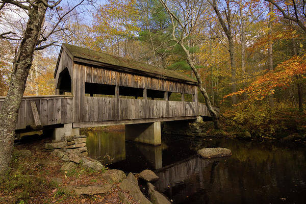 Photograph - Devil's Hopyard Covered Bridge by Kirkodd Photography Of New England
