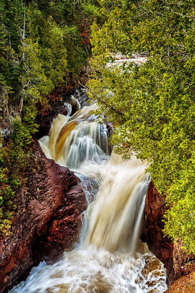 Photograph - Devil's Kettle Falls by Susan Rissi Tregoning